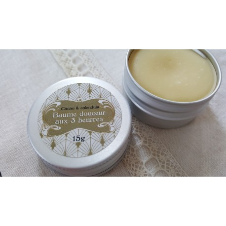 Baume douceur sans parfum aux 3 beurres