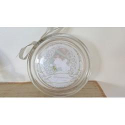 Porte savon artisanal en verre recyclé, Chérubins