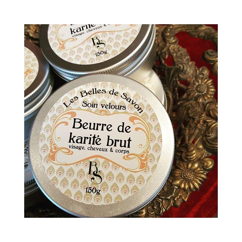 Beurre de karité brut - 100% naturel - non désodorisé