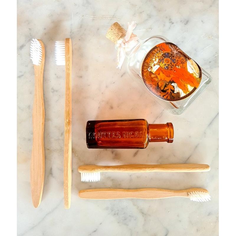 Brosses à dents bambou pack familial