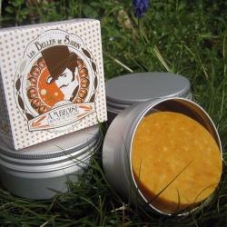 Boîte à savon classique en alu brossé - Belles de Savon