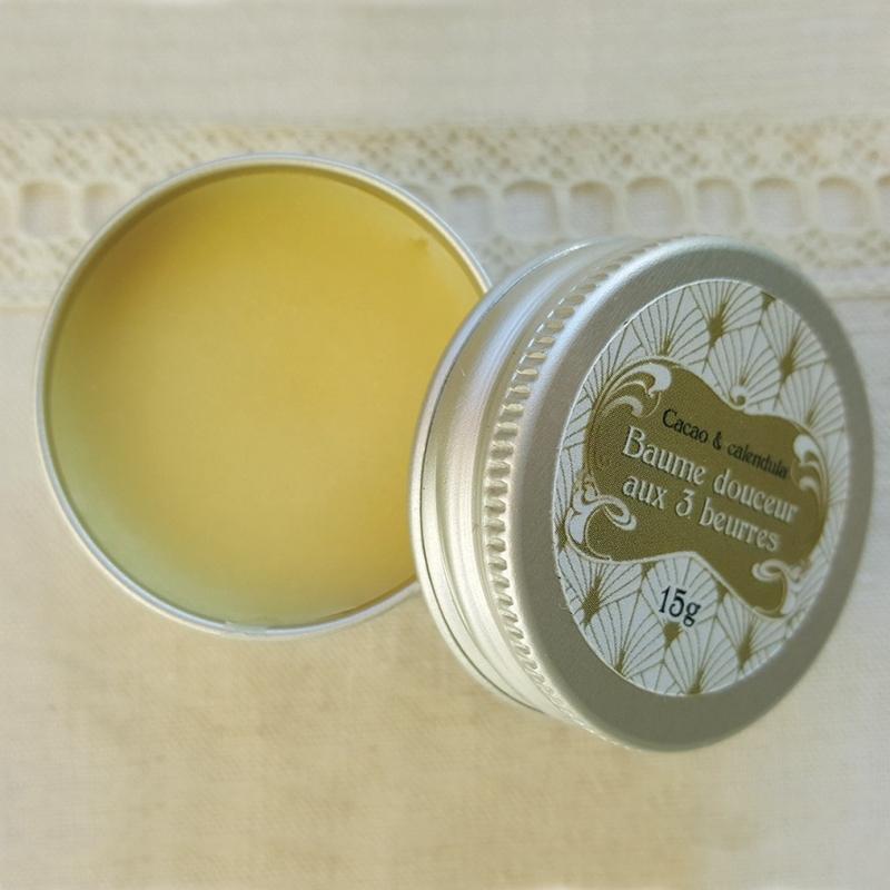 Baume douceur aux 3 beurres - Les Belles de Savon - slow cosmétique